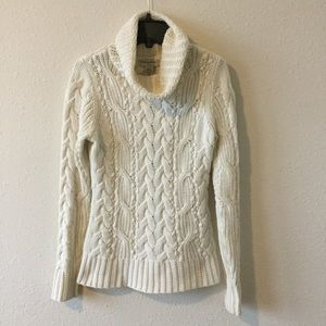 Chunky Cable-knit Banana Republic Sweater, XS